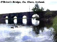 O'Brien's Bridge, Co. Clare.