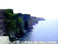 Cliffs of Moher, Co. Clare.