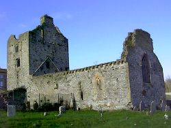 Cahir Abbey, Cahir, Co. Tipperary, Ireland.