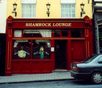 The Shamrock Lounge, Castle Street Cahir, Co. Tipperary, Ireland.