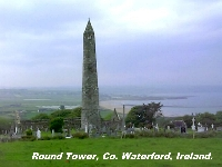 Round Tower, Co. Waterford.
